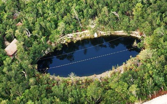 Cenote Mojarras